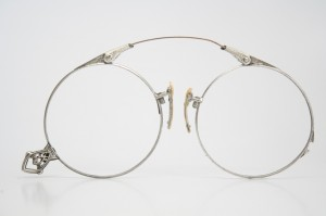 pince nez antique eyeglasses