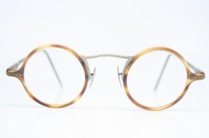 round vintage glasses