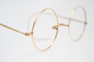 antique eyeglasses