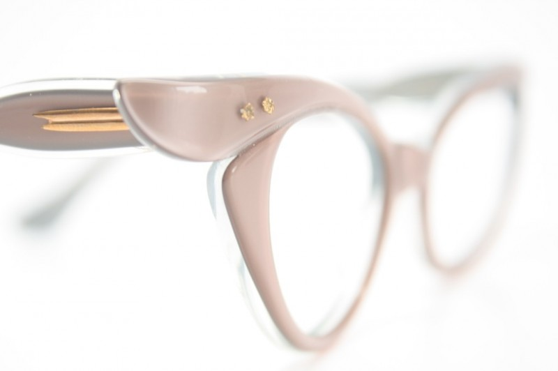 Unused MInk Vintage Cat Eye Glasses