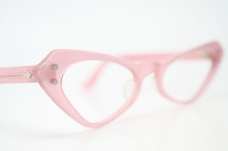 pink cateye frames