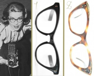 grace kelly vintage eyeglasses