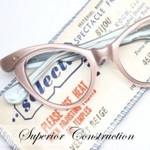 mink vintage curly eyeglass frames