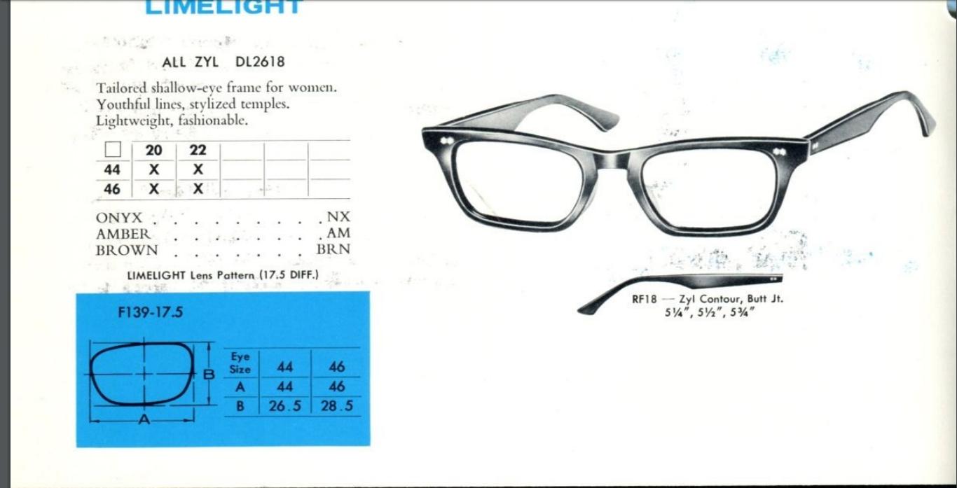0ea01d75fcf8 https://vintageopticalshop.com/vintage-1950-s-cat-. Most of the men's  1960's frames ...